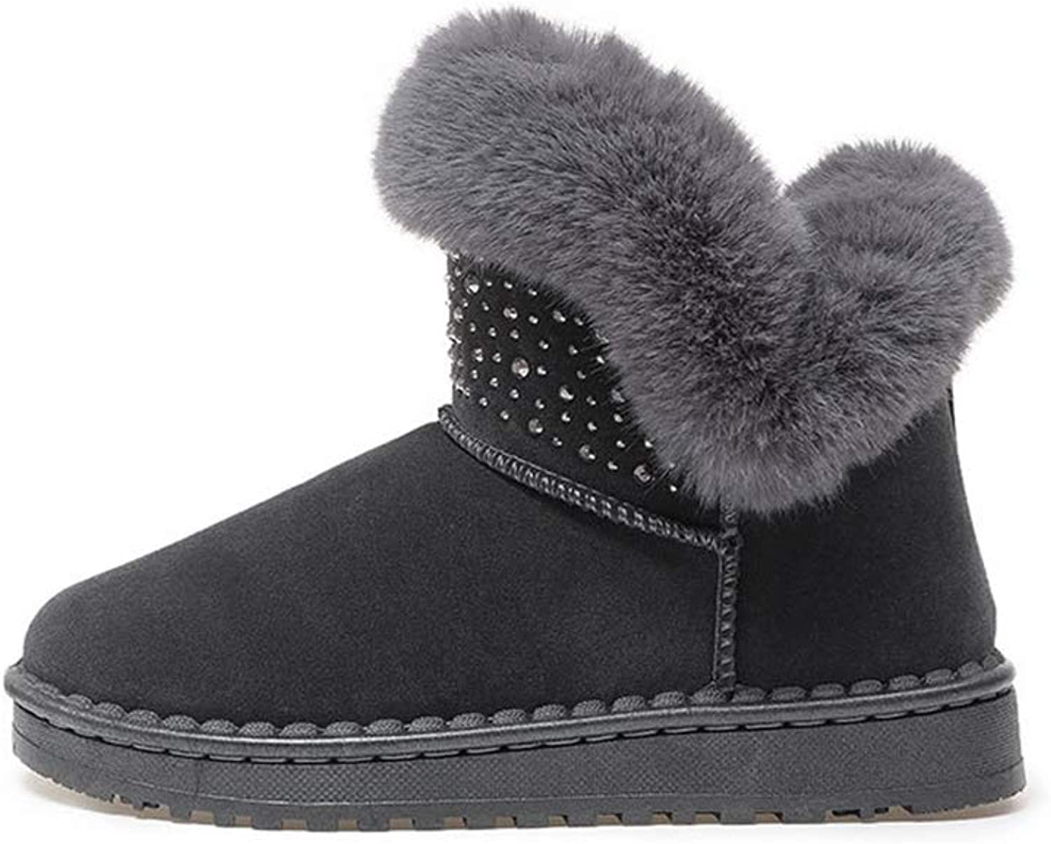 Women's Snow Boots Winter Boots with Fur Winter Warm and Comfortable Boots