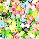 Vaessen Creative Perline a Fusione, Mix Color Pastello, Set di 6000 Pezzi per i Lavori di Fai-da-te con Bambini, per Creare Gioielli, Decorazioni Fatte in Casa e per Altre Idee Ingegnose