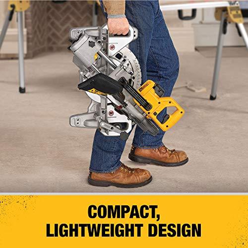 DEWALT 20V MAX 7-1/4-Inch Miter Saw, Tool Only (DCS361B)