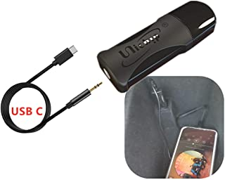 USB Dongle Car Audio Interface for Volkswagen Skoda Seat -USB to 3.5mm AUX Music Adapter with Pod Phone 11 Xs X Ligting Port for VW Golf Jetta Passat CC Tiguan Beetle Octavia Leone, 2016-19