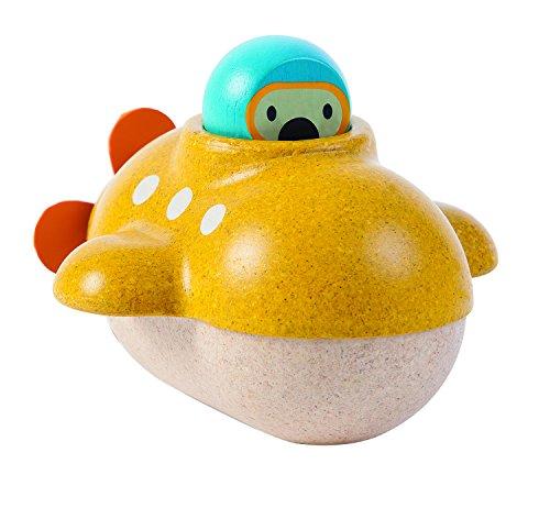 PlanToys- Submarino, Juguete de baño (5669)
