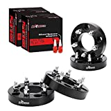 4 Pcs Wheel Spacers Adapter 5x5.5 to 5x4.5 for 1994-2001 Ram 1500,1.5 inch 5 Lug Adapter 1/2' x20 Studs Replacement fits for E-150 Econoline, F-150
