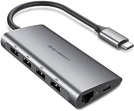 UGREEN Hub USB C 3.1 Adaptador, 8 en 1 USB Tipo C a 4K HDMI