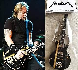 Keychain Guitar Esp Iron Cross James Hetfield Metallica
