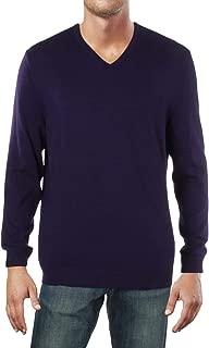 Alfani Mens Knit V-Neck Pullover Sweater