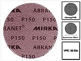 Mirka Abranet Gitternetz-Scheiben GRIP P150 Ø 150 mm (50 Stk.)