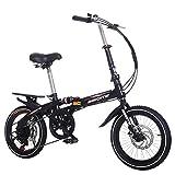 DULPLAY Mini Bicicletta,Bicicletta Pieghevole,Bici da Strada Adulto Uomo Donna Studente Bi...