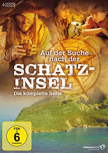 Auf der Suche nach der Schatzinsel (Die komplette Serie) [4 DVDs]