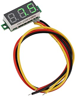 DC-spanningsmeter Volttestmonitor 0.28 Inch LED-display Voltmeter Professioneel paneel 0~100V Hoge resolutie voor elektris...