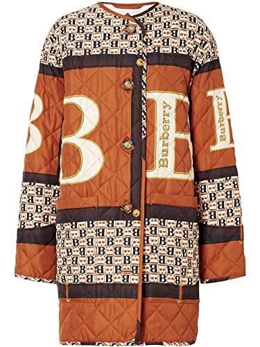 BURBERRY Luxury Fashion Damen 8023327 Braun Jacke |