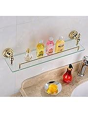 Weare Home Wandmontage badkameraccessoires Modern Ti-PVD afwerking messing materiaal kleur goud wc-borstelhouder en wc-borstel badkamer accessoires