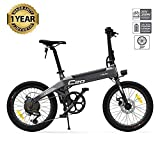 Plegable Bicicleta eléctrica Plegable 250 W para ciclomotor Bicicletas eléctricas para Adultos 25 kmh Bicicletas de accionamiento de Motor sin escobillas, Capacidad de Carga de 100 kg
