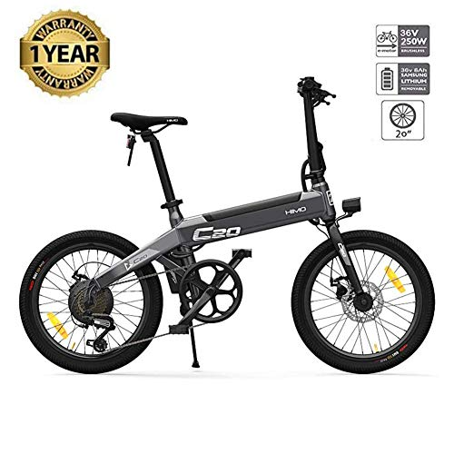 Plegable Bicicleta eléctrica Plegable 250 W para ciclomotor Bicicletas eléctricas para Adultos...