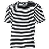 Ruso Marino–Camiseta, de media manga, 100 % algodón, Russian Navy, pequeño