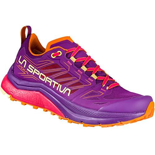 LA SPORTIVA Jackal Woman, Zapatillas de Trail Running Mujer, Blueberry/Love Potion, 36 EU