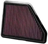 K&N Engine Air Filter: High Performance, Premium, Washable, Replacement Filter: 2010-2017 Chevy/GMC (Equinox,...