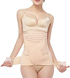 3 in 1 Postpartum Support Recovery Belly Wrap Waist/Pelvis Belt Body Shaper Postnatal Shapewear-L