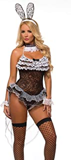 Sexy Bunny Girl Lingerie Costume for Women 9730