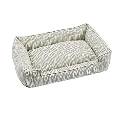 image of Jax and Bones Premium Cotton Blend Lounge Dog Bed