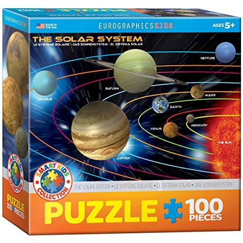 EuroGraphics Das Sonnensystem - 100 Teile Puzzle