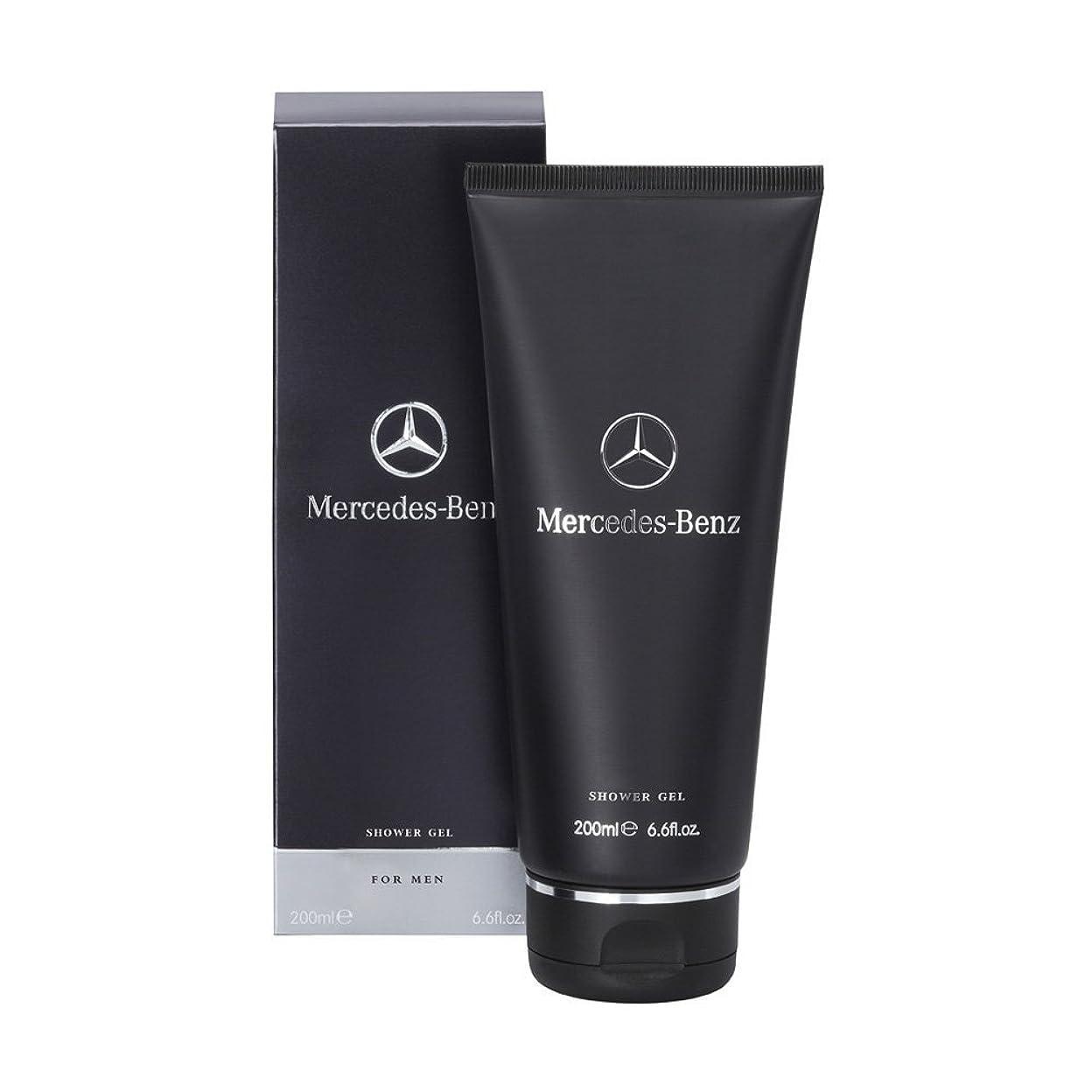 ミュウミュウ劣る原点Mercedes-Benz (メルセデス ベンツ) 6.7 oz (200ml) Shower Gel (シャワー ジェル) by Mercedes-Benz for Men