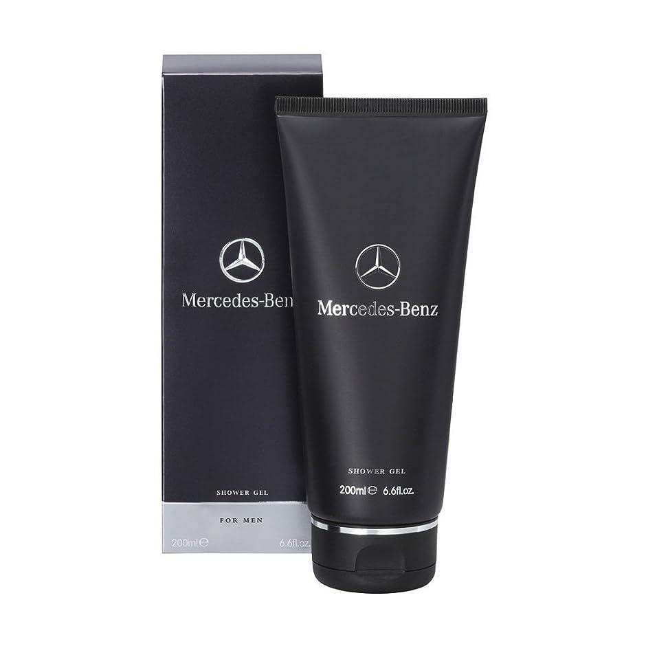 捧げるロゴ電極Mercedes-Benz (メルセデス ベンツ) 6.7 oz (200ml) Shower Gel (シャワー ジェル) by Mercedes-Benz for Men