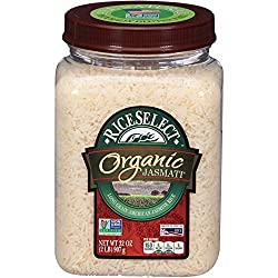 RiceSelect Organic Jasmati Rice, 32 Ounce (1 Count)