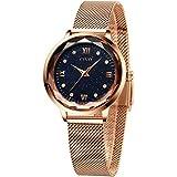 CIVO Womens Watches Rose Gold Waterproof Watch...