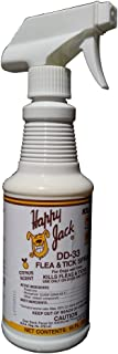 Happy Jack DD-33 FLEA-TICK Spray 16OZ
