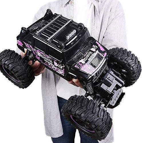 ksovvoo Gran Control Remoto Camiones Monster RC Coche 4WD Racing de Alta Velocidad All Terreno Escalada Toys Toys Car 1:14 Escala Fuera del vehículo de Carretera 2.4GHz Radio Control Remoto Regalo de