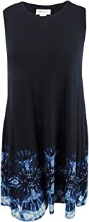Style & Co. Womens Plus Sleeveless Knee-Length Casual Dress