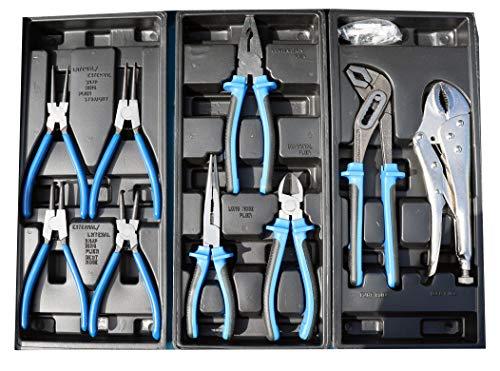 Werkzeugwagen Werkstattwagen Werkzeugkasten Werkzeugkiste + Werkzeug 220 tlg. - 3