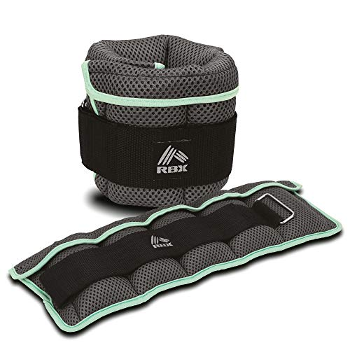RBX (3lb/6lb) Pair Adjustable Ankle Weights
