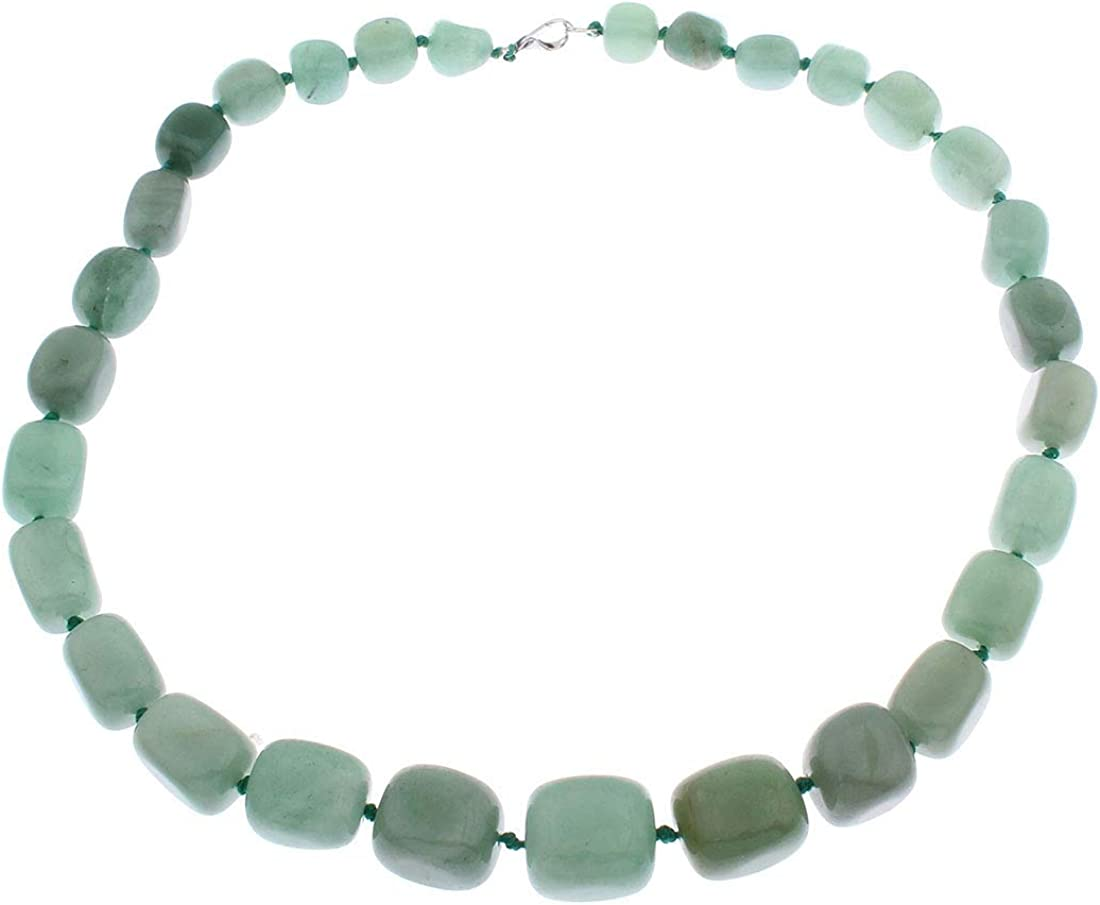 TreasureBay Stunning Rare Natural Price reduction Gemstone Women Necklace for Chunky