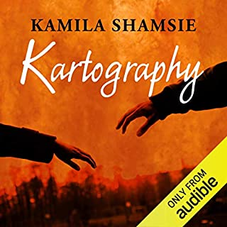 Kartography audiobook cover art