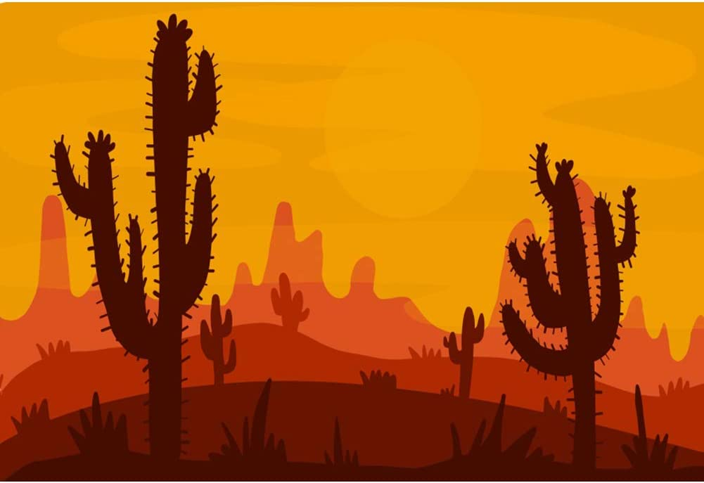 Laeacco Halloween Indianapolis Mall Backdrop 8x6.5ft Cactus sale Photography Background