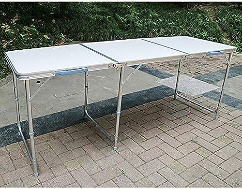 NuoEn Outdoor Klapptisch Einfache Büro Treffen Lange Tabelle Training Table Outdoor Stand Rechteckigen Tisch Kunststoff Speisetisch ( Farbe   1Table )