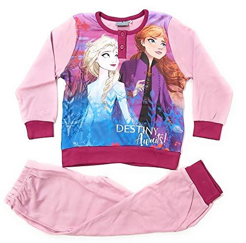 Schlafanzug Frozen Elsa und Anna, langärmlig, für Mädchen,...