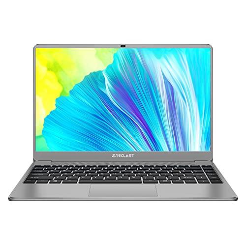 TECLAST F7 Plus 3ノートパソコン 14インチ ノートPC,インテルCeleron N4120,メモリ 8GB / SSD 256GB,Win10搭載 薄型軽量PC,1920*1080 FHD/IPS広視野角,Mini-HDMI / デュアルWIFI / USB3.0*2 / WEBカメラ / Bluetooth4.2 / 45600mWh,初心者向け・テレワーク・仕事用・学習用パソコンノート