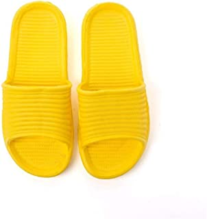 Soft Home Slippers Couple Summer Indoor Non-Slip Bathroom Sandals Hotel Solid Color Men And Women Flat Shoes