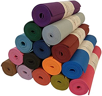"Bean Products Yoga Monster Mat - Extra Thick 1/4"" - Extra Long 72"" - 24"" Wide - Non-Toxic - Premium Quality - Hot Pink"