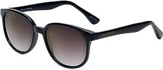 Isaac Mizrahi Designer Sunglasses IM44-10 in Black with Grey Lenses