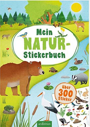 Mein Natur-Stickerbuch: Über 300 Sticker (Mein Stickerbuch)