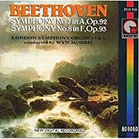 Beethoven: Symphony No.7, No.8 / Lso / Wyn Morris
