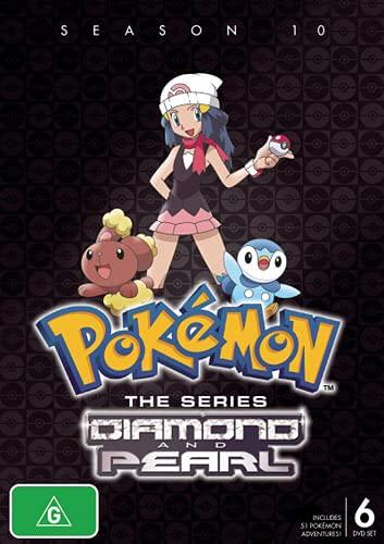 Pokémon Season 10: Diamond & Pearl