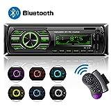 HCLKSTORE Autoradio Bluetooth Main Libre, Poste Stéréo Radio avec 2 Ports USB, 1...