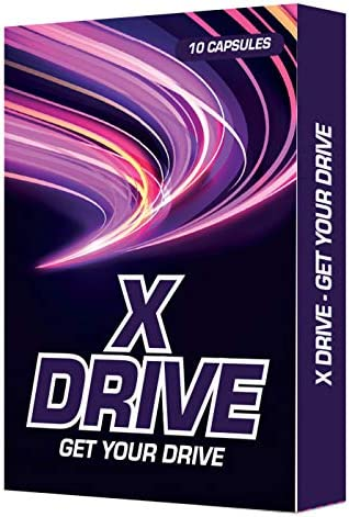 X Drive Male Enhancement Supplement Natural Performance Drive Booster for Girth Growth Energy product image