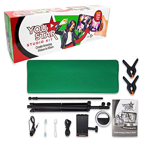 Studio Kit EASYPIX 62010 YouTAR Studio Kit met microfoon