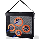 Hely Cancy Portable Shooting Practice Target Toy Storage Mesh Bag Compatible with Nerf Darts for Kids 6+