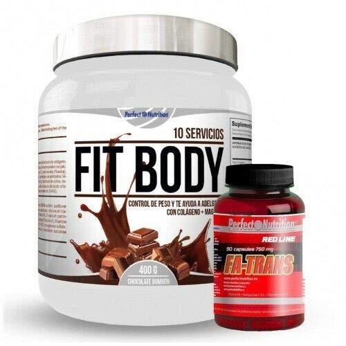Pack adelgazamiento : Batido sustitutivo de comida 400gr + quema grasas termogenico 90cap dieta hombre y mujer (Chocolate - Bombon)